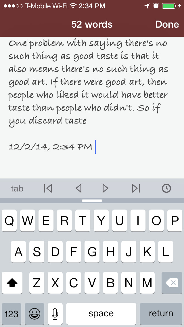 Chronicle - A Personal Journal / Writing Diary screenshot 4