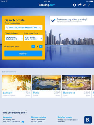 Booking.com: Hotels & Travel screenshot 6