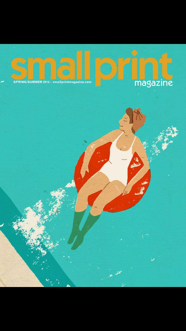 Small Print Magazine screenshot 1