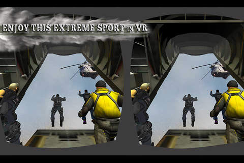 VR Military Paragliding Game - Virtual Reality Sim - náhled