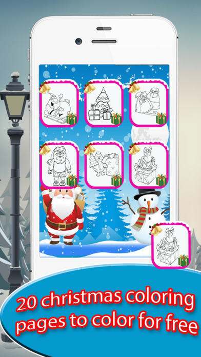 Kids Doodle Drawing Pad - Christmas Coloring screenshot 2