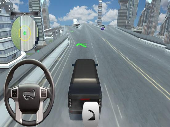 City Fast Prado Racing :Real Land-Cruiser Par-king screenshot 7