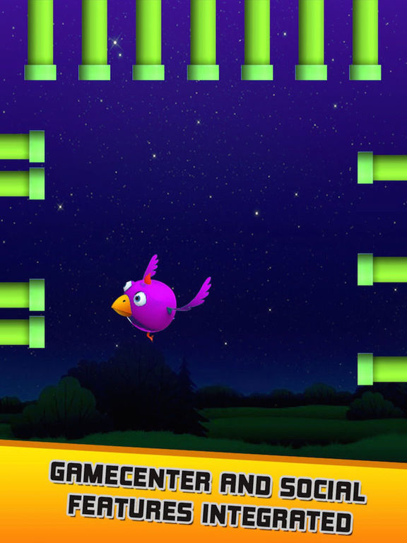 Hasty Bird - A Bird Flying Game screenshot 6