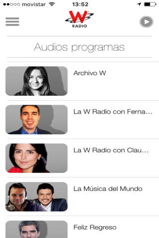 WRadio Colombia para iPhone - náhled