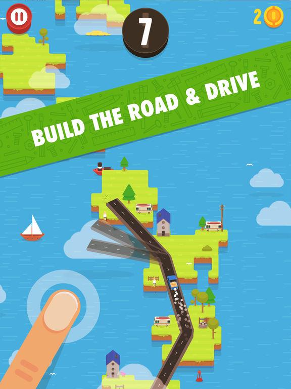 Hardway - Endless Road Builder screenshot 6