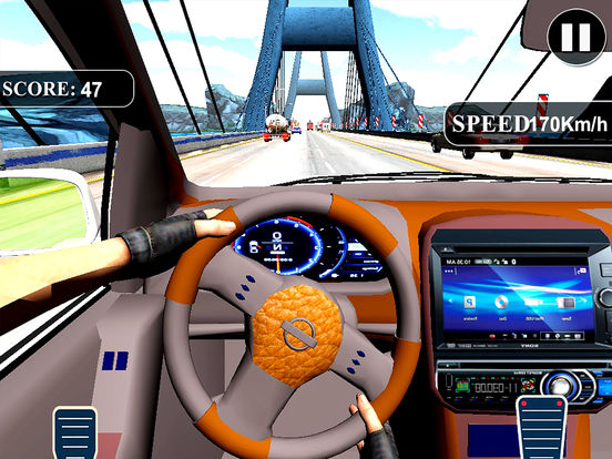 Fast Race In Car : A City Traffic Drive screenshot 6