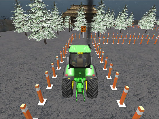 Farming Tractor Parking Driver screenshot 6