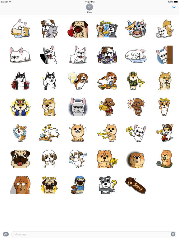 Dogs And Friendship Stickers screenshot 4