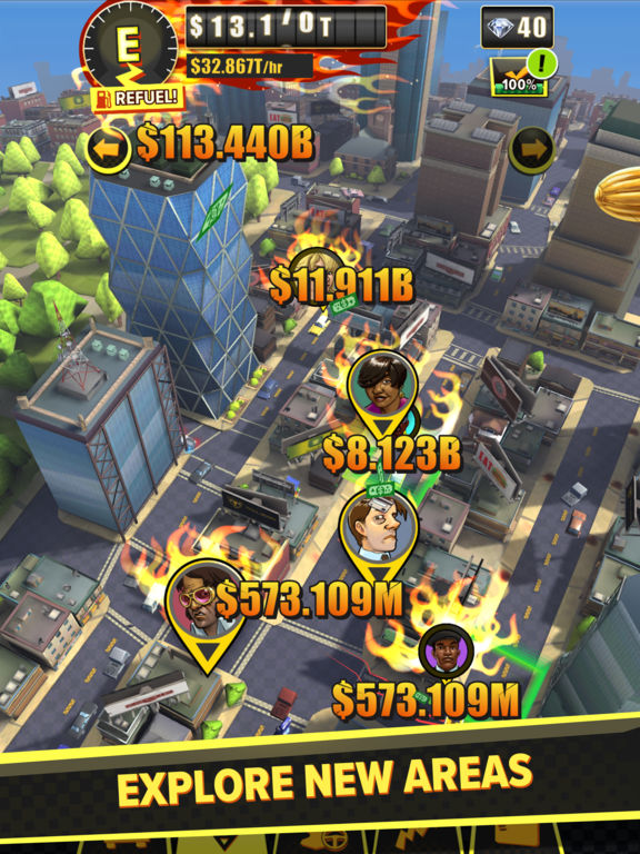 Crazy Taxi Idle Tycoon screenshot 9