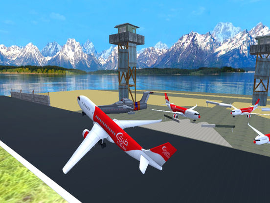 Airspin Aeroplane Adventure : Real Sky flight Sim screenshot 6