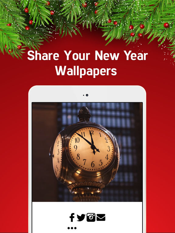 New Year Wallpapers - Christmas Countdown & Cards screenshot 7