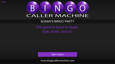 Bingo Caller Machine screenshot 2