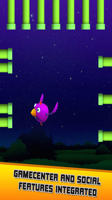 Hasty Bird - A Bird Flying Game screenshot 2