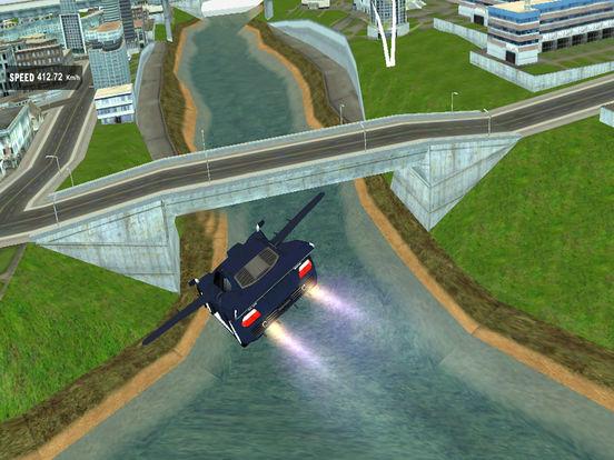 AirBorne Flying Car : Fast Racing Sim-ulator 2017 screenshot 6