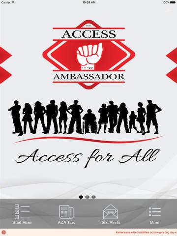 Access Ambassador - náhled