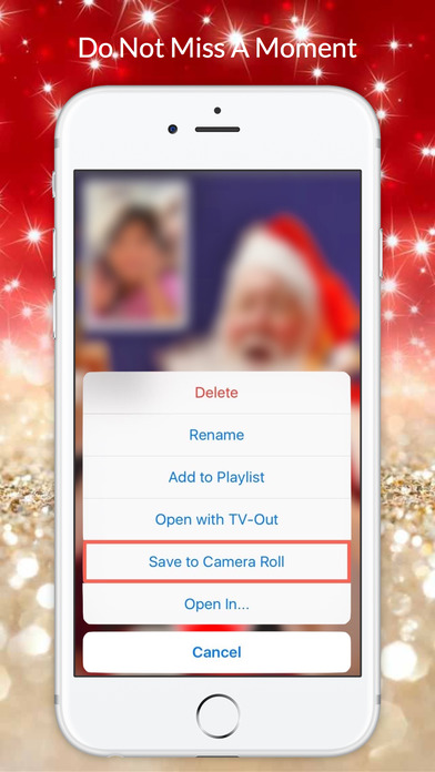 Video Call Santa screenshot 3