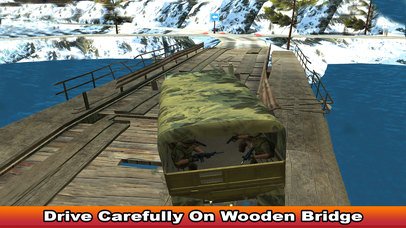 Military Soldier Truck Drive screenshot 4