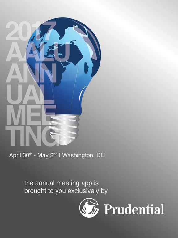 2017 AALU Annual Meeting screenshot 4