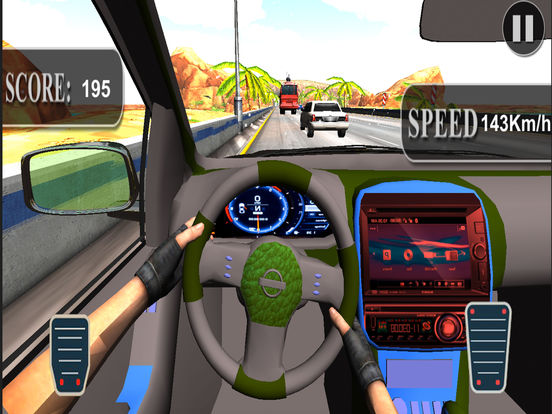 Asphalt Race in Car : A Dashboard view Drive 2017 screenshot 8