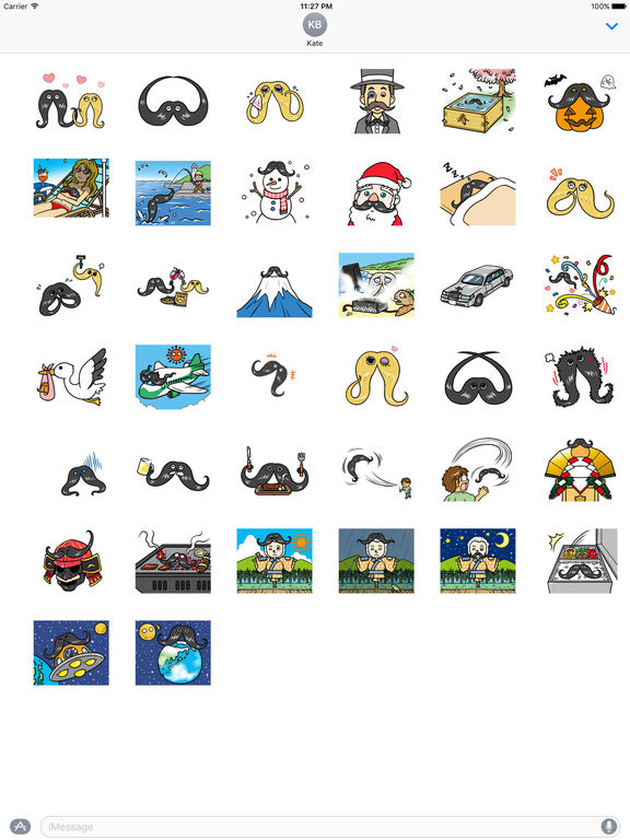 Beard Beard Everywhere Sticker screenshot 4