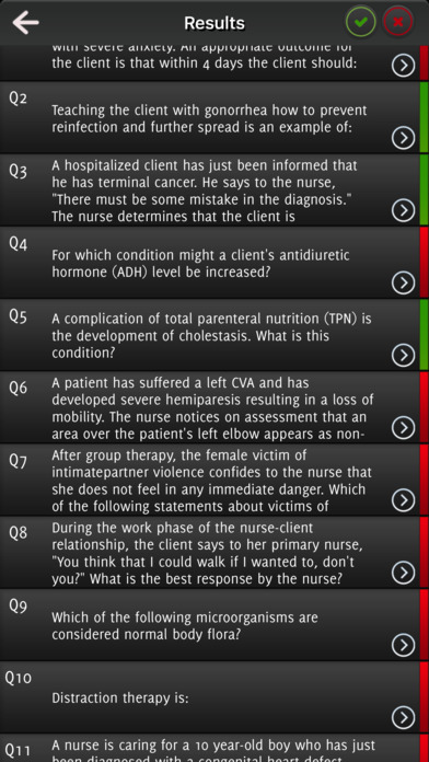 NLCEX-RN Exam Questions screenshot 5