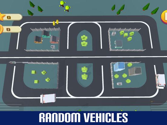 Crazy Circuit Drive Loop Car - Cartoon Crash Taxi screenshot 7