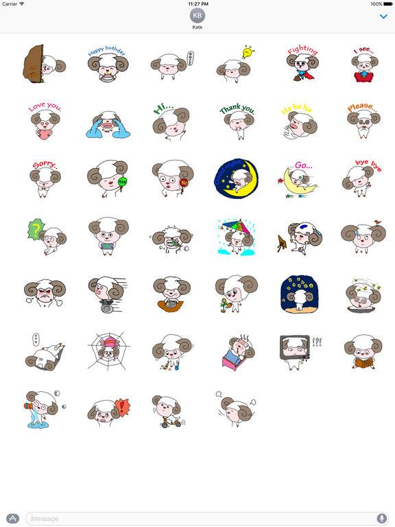 Babe Sheep Stickers screenshot 4