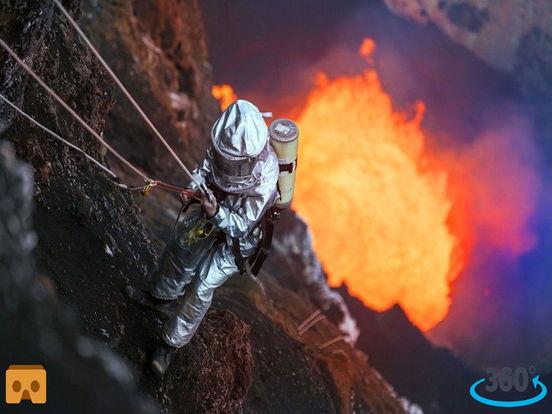 VR Inside Volcano Pro with Google Cardboard screenshot 4