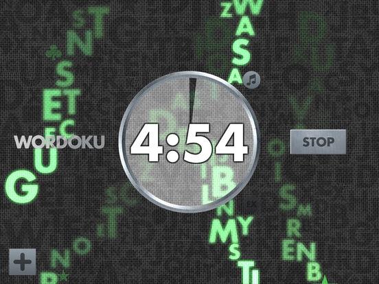 Wordoku Timer screenshot 3