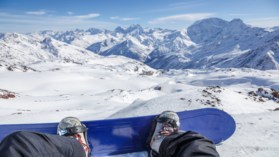 VR Ski & Snowboard Extreme with Google Cardboard screenshot 2