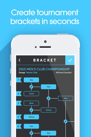 My Bracket - Tournament Manager for Amateur Sports - náhled