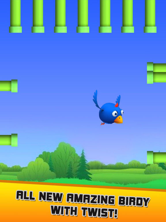Hasty Bird - A Bird Flying Game screenshot 10