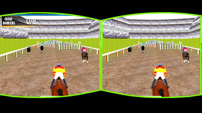 Vr Mine-Craft Jumpy Horse : Real Forest Cliff Race screenshot 3