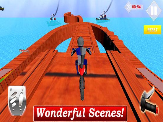 Extreme Stunt Biker : 3D Drift-ing Highway Race-r screenshot 5