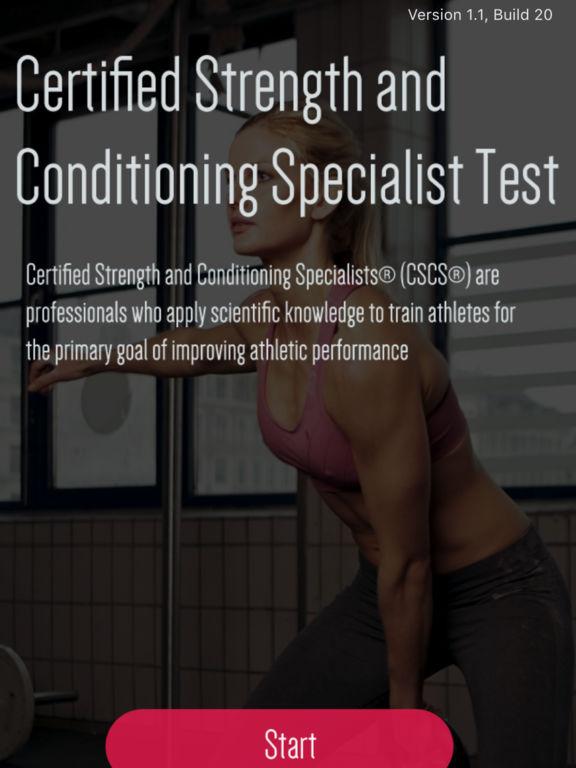 CSCS Strength Exam Prep screenshot 5