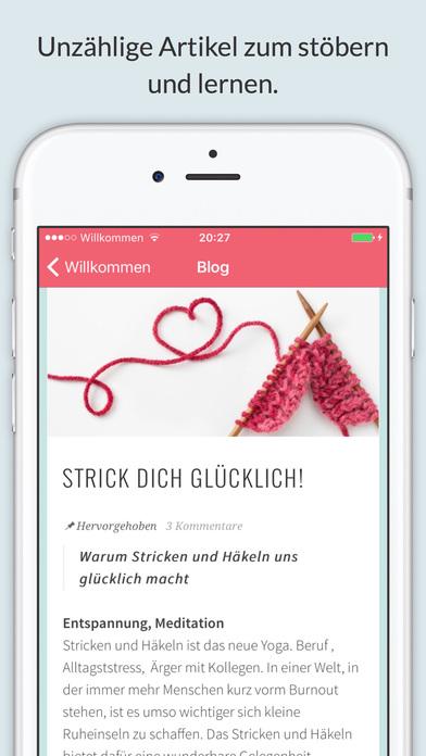 Maschenmarie - Stricken und Häkeln für Anfänger screenshot 1