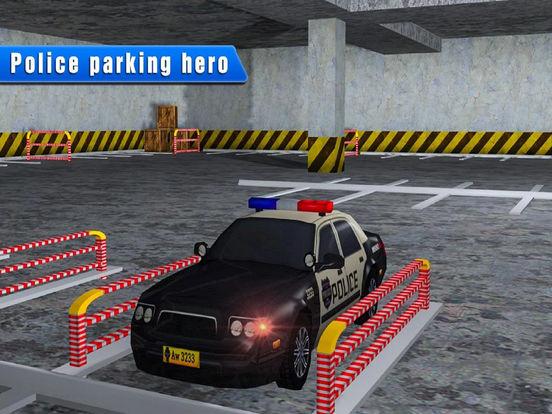 Epic Police High-way Car : Real Stunt Par-king 3D screenshot 6