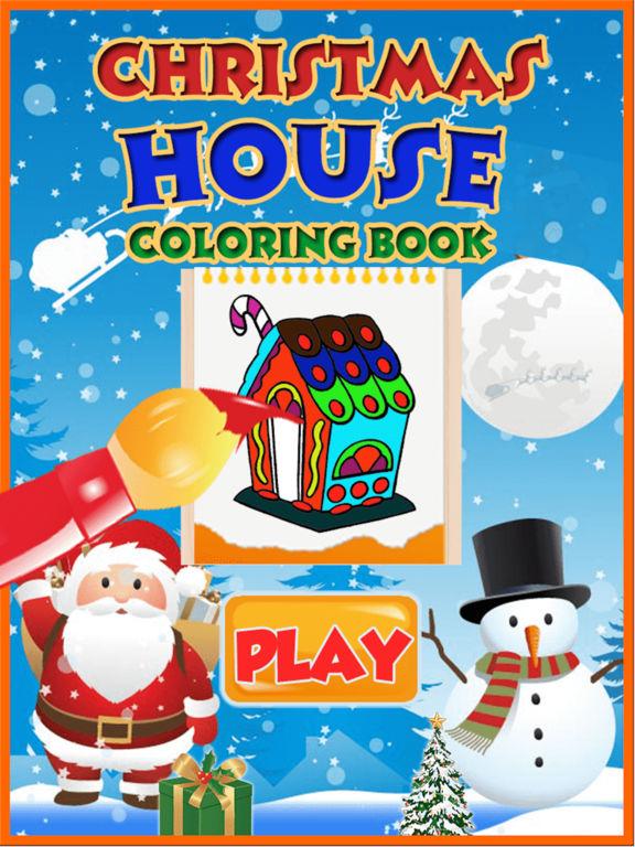 Christmas House Coloring Book screenshot 5