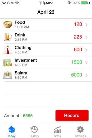 Daily Money - náhled