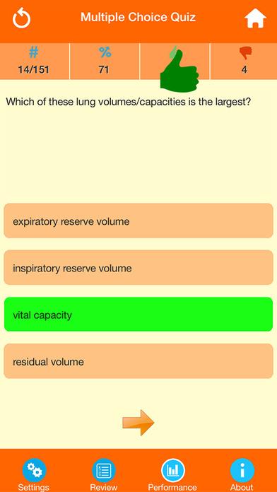 Human Body Parts : Lungs Quiz screenshot 2