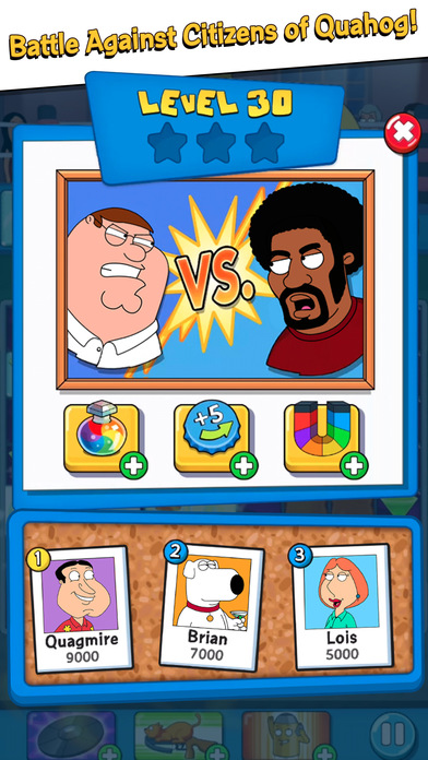 Family Guy Freakin Mobile Game screenshot 4