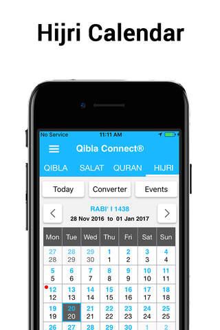 Qibla Connect® - Salah Times, Quran, Hijri & Qibla - náhled
