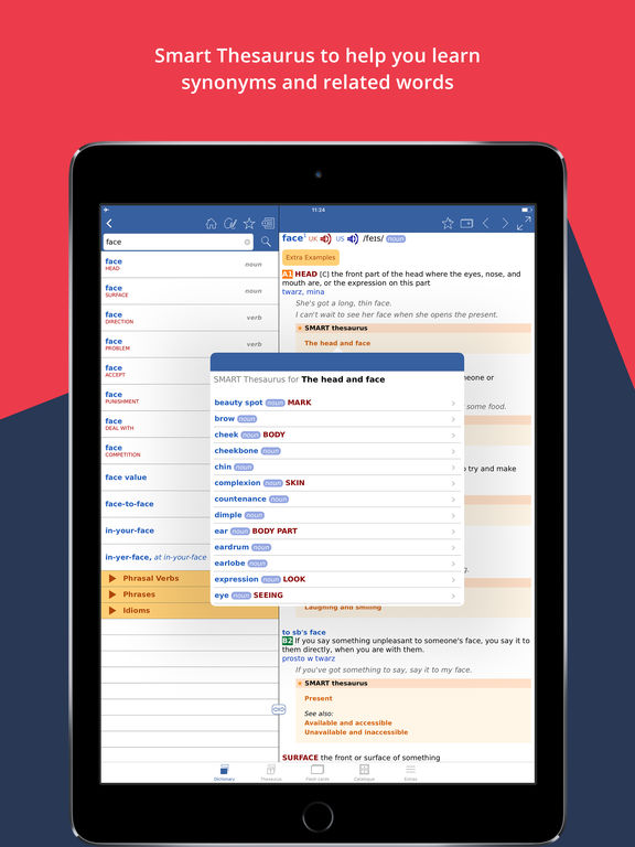 Cambridge Learner's Dictionary English-Polish screenshot 8