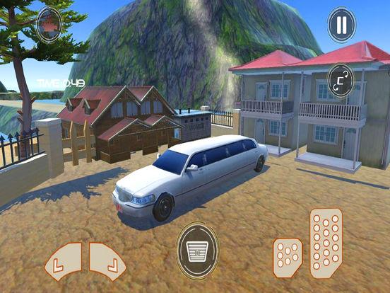 Off-Road Limousine Hill Climbing : Real Car Drive screenshot 4