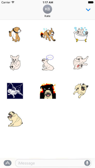 Puppy Bro Sticker screenshot 3