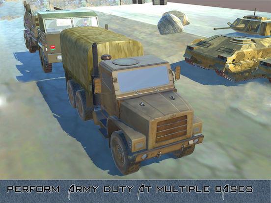 US Army Trucker Park : Gambler Traffic Sim-ulator screenshot 7