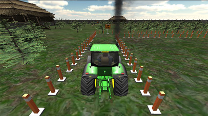 Farming Tractor Parking Driver screenshot 4