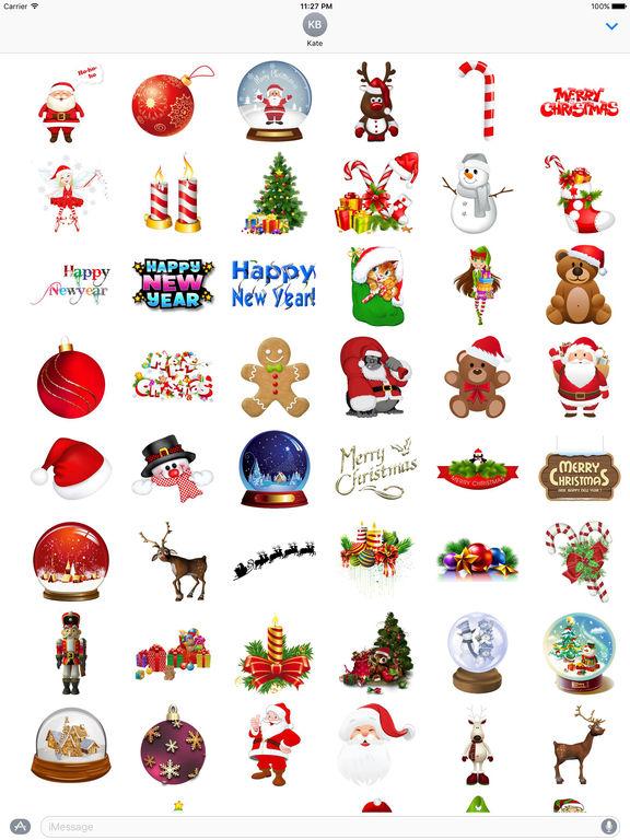 Stickers Set For Merry Christmas screenshot 6