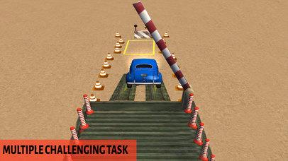 3D Mini Car Parking : Real Challeng-ing Drive 2017 screenshot 4