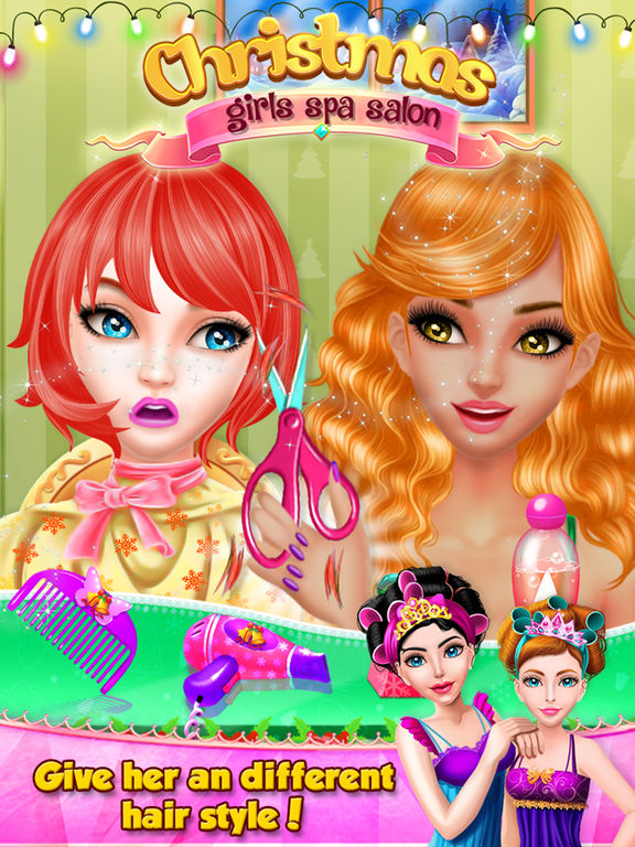 Christmas Girls Spa Salon screenshot 8